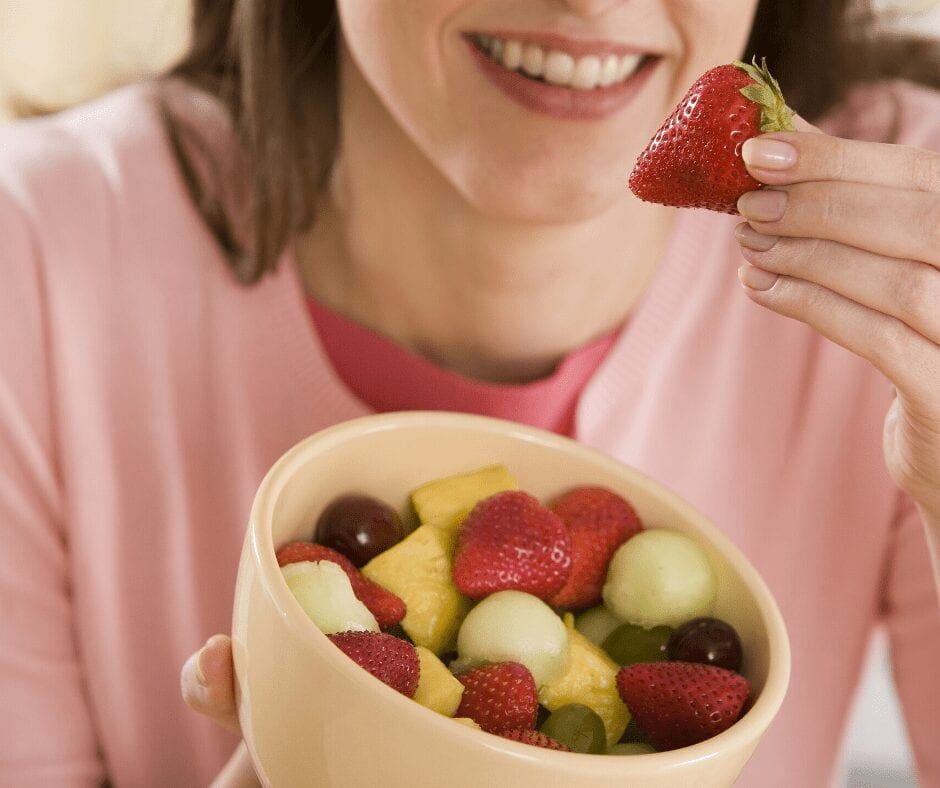 Alkaline fruits will make your mouth less acidic