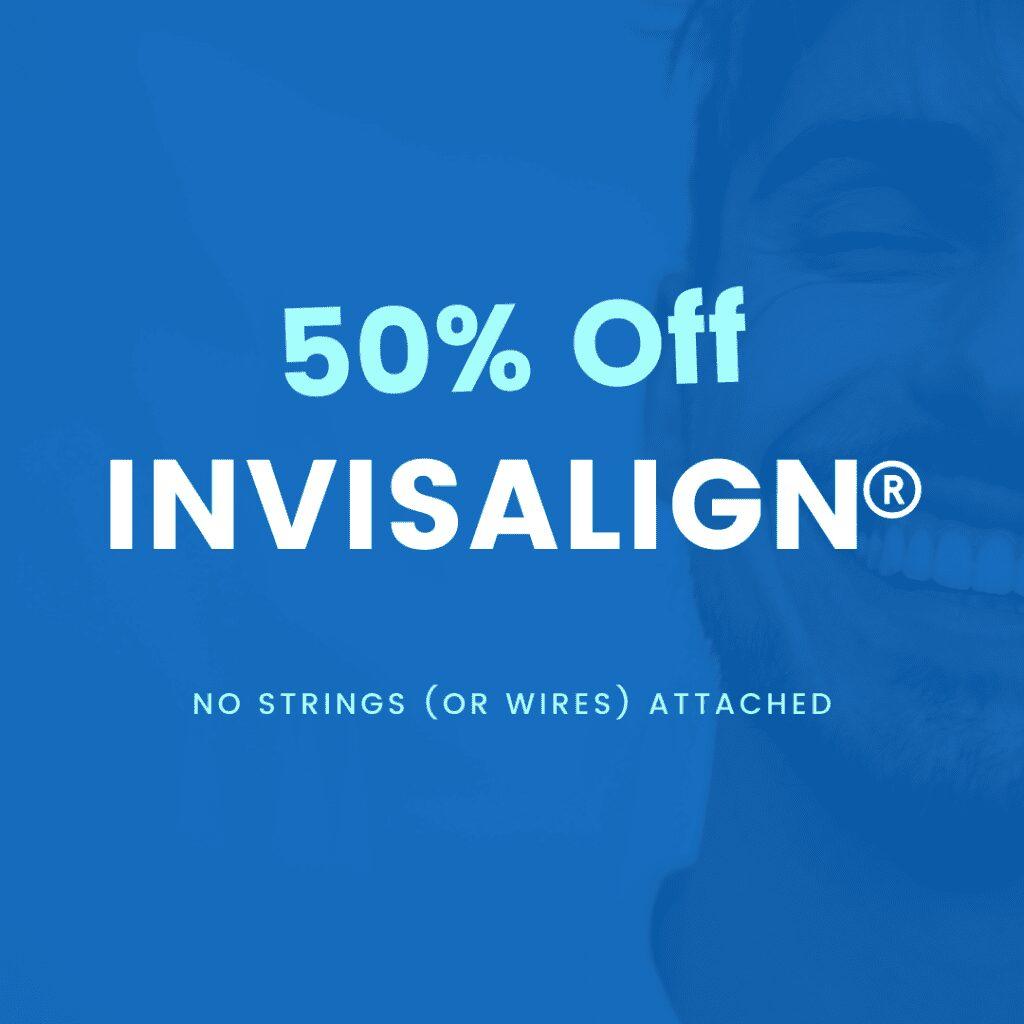 invisalign 50%